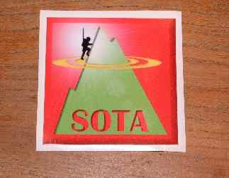 SOTA Window Sticker